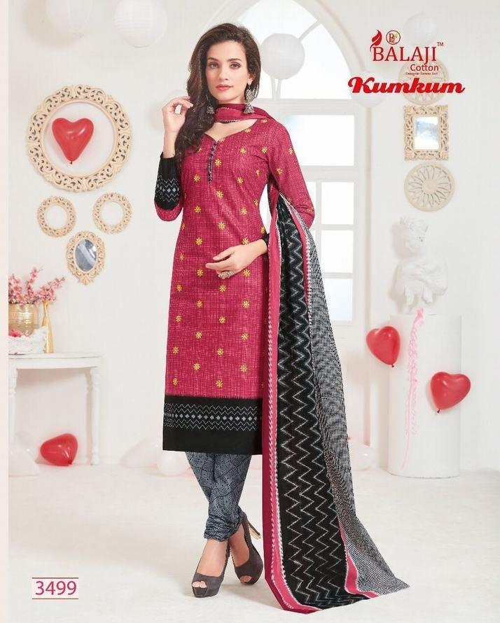 0eaec46b62 BALAJI KUMKUM VOL. 15 - Pure cotton fabric printed casual wear ...