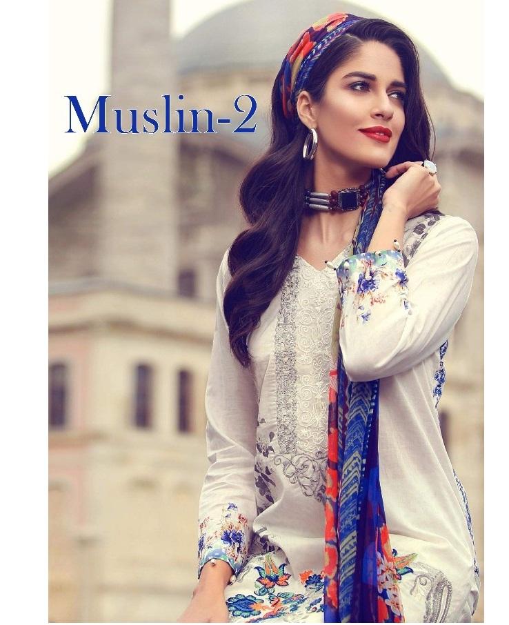 89d8c002a8 DEEPSY MUSLIN VOL 2 – Pure cotton fabric embroidery work pakistani ...
