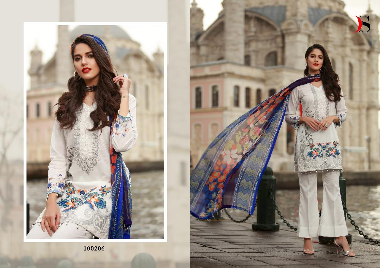 2a248d5e05 DEEPSY MUSLIN VOL 2 - Pure cotton fabric embroidery work pakistani ...