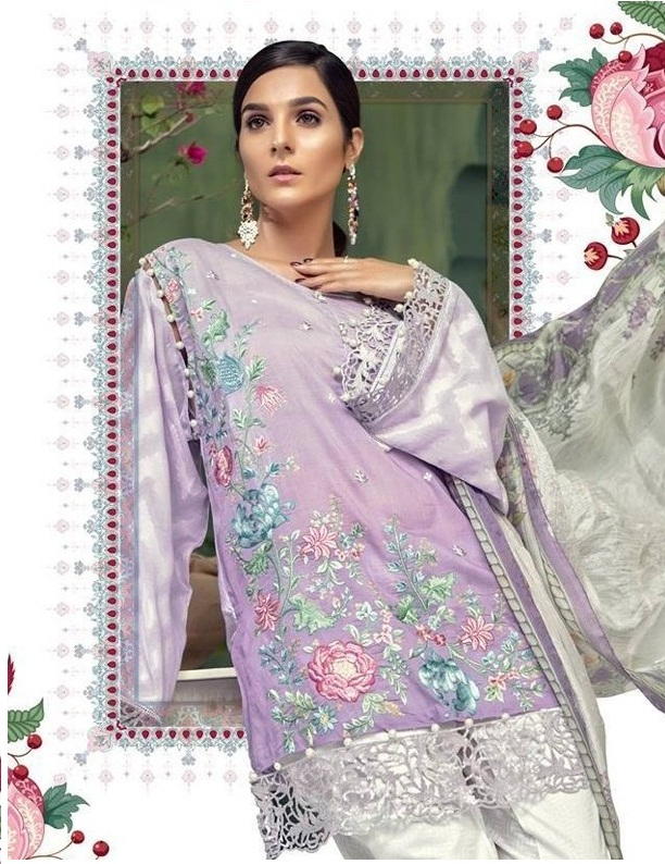 370c168fb1 DEEPSY MARIA B VOL 4 – Pure cotton fabric embroidery work pakistani style  salwar kameez