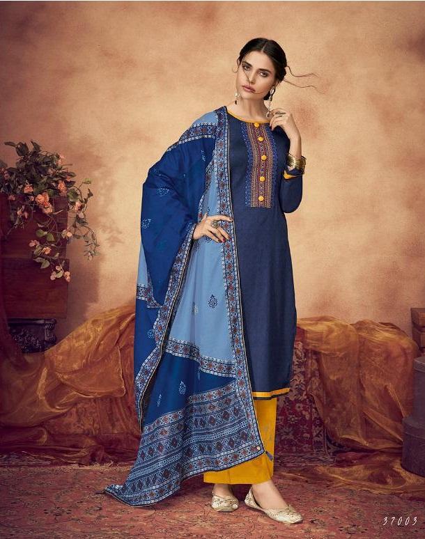 da314288ff DEEPSY PANGHAT VOL 2 – Pure Jam Silk cotton print with work top with cotton  foil printed dupatta salwar kameez